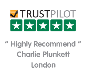 Trustpilot 5/5 - Super team. Mrs Bishop, May 2016